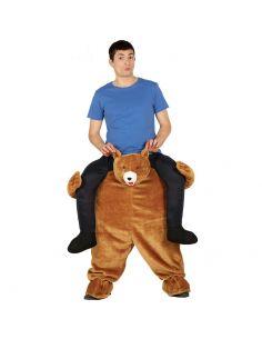 Disfraz a hombros del oso