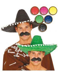 Sombrero Mejicano 50 cm. Tienda de disfraces online - venta disfraces