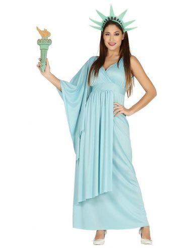Disfraz de Estatua de la Libertad Mujer Tienda de disfraces online - venta disfraces