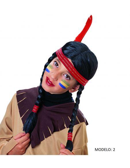 Pelucas de Indio -2 Modelos Tienda de disfraces online - venta disfraces