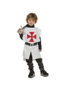 Peto Medieval Blanco infantil Tienda de disfraces online - venta disfraces