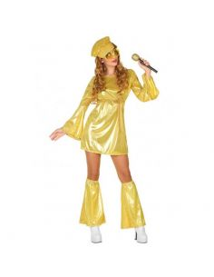 Disfraz Disco para Mujer Dorado Tienda de disfraces online - venta disfraces