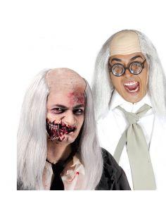 Calva Zombie con Pelo Tienda de disfraces online - venta disfraces