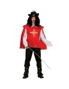 Disfraz Mosquetero Rojo Adulto Tienda de disfraces online - venta disfraces