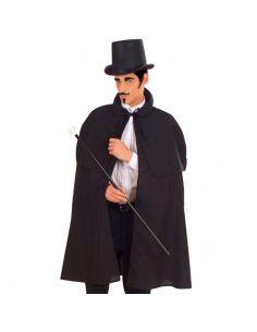 Capa con Capelina negra Tienda de disfraces online - venta disfraces