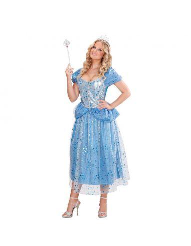 Disfraz Princesa Hada Azul para Mujer Tienda de disfraces online - venta disfraces