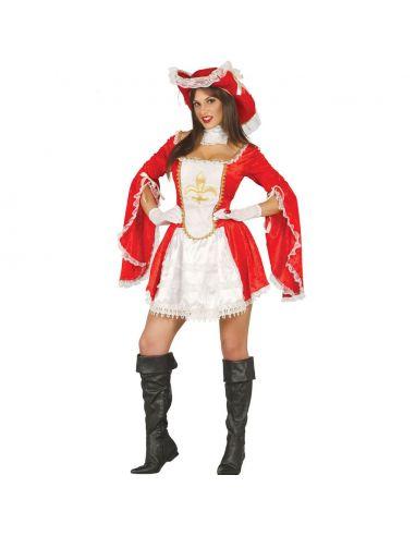Disfraz Mosquetera Adulta Tienda de disfraces online - venta disfraces