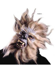 Máscara Media Cara Mono con Pelo Tienda de disfraces online - venta disfraces