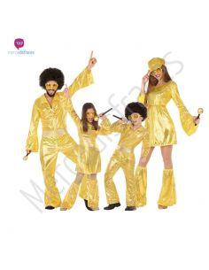 Disfraces para grupos de disco dorado Tienda de disfraces online - venta disfraces