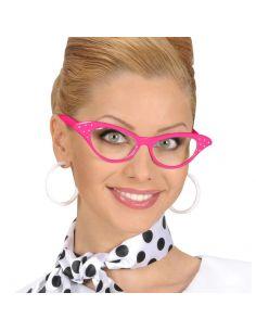 Gafas rosa Años 50 Tienda de disfraces online - venta disfraces
