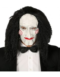Máscara Marioneta con pelo