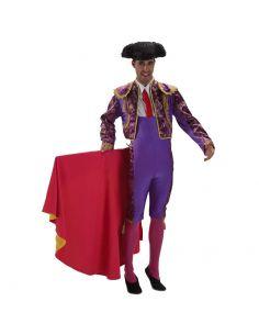 Disfraz Torero Morado adulto Tienda de disfraces online - venta disfraces