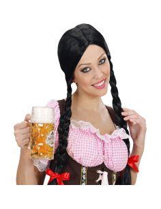 Peluca de Tirolesa para mujer Tienda de disfraces online - venta disfraces