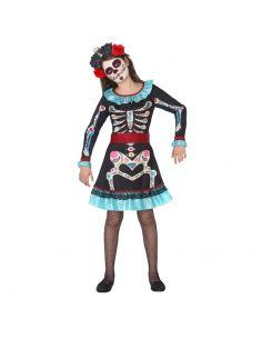 Disfraz de Niña Esqueleto Tienda de disfraces online - venta disfraces