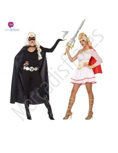 Disfraces Grupos Heroínas Tienda de disfraces online - venta disfraces