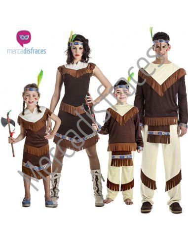 Disfraces Grupos Indios Oeste Tienda de disfraces online - venta disfraces