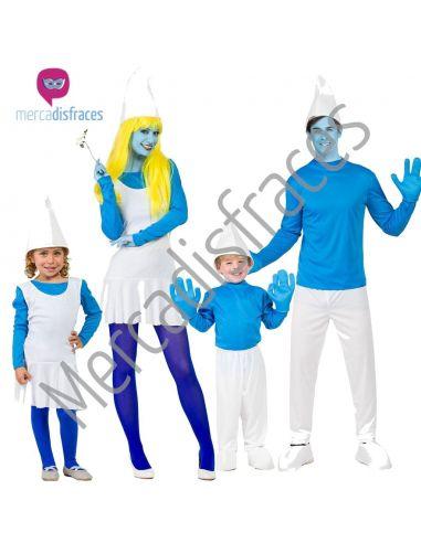 Disfraces Grupos Familia Pitufos Tienda de disfraces online - venta disfraces