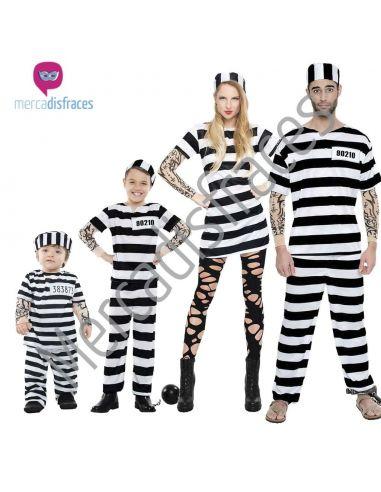 Disfraces Grupos Presos Rayas Tienda de disfraces online - venta disfraces