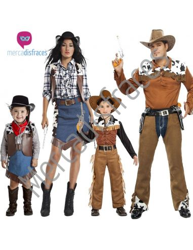 Disfraces Grupos Vaqueros/as Tienda de disfraces online - venta disfraces