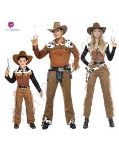 Disfraces Grupos Vaqueros Oeste