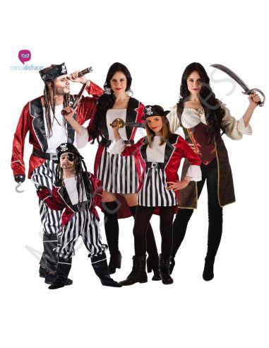 Disfraces Grupos Piratas Divertidos Tienda de disfraces online - venta disfraces