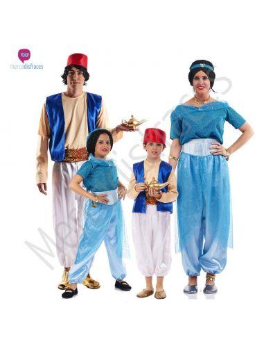 Disfraces Grupos Aladino y Jasmín Tienda de disfraces online - venta disfraces