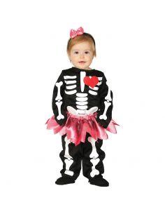 Disfraz Esqueleto con tutu para bebe Tienda de disfraces online - venta disfraces