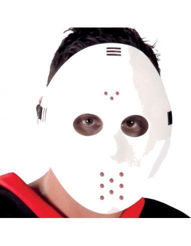 Careta Hockey blanca