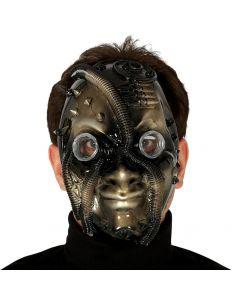 Máscara Steampunk negro/oro Tienda de disfraces online - venta disfraces