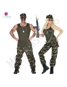 Disfraces Grupos Ejército Militar Tienda de disfraces online - venta disfraces