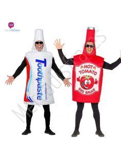 Disfaces Grupos Pasta de Dientes y Salsa Picante Tienda de disfraces online - venta disfraces