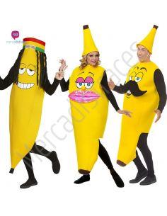 Disfraces Grupos Plátanos Divertidos