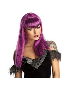 Peluca Vampiresa Lila Traviesa Tienda de disfraces online - venta disfraces