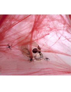 Telaraña Sangrienta con Arañas Tienda de disfraces online - venta disfraces
