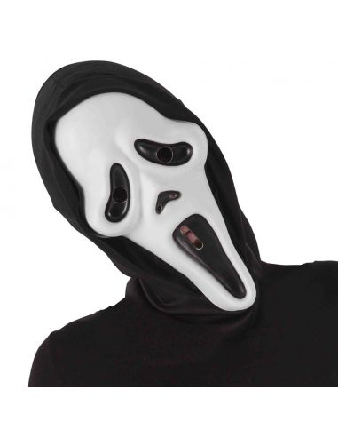 Máscara Screan con capucha