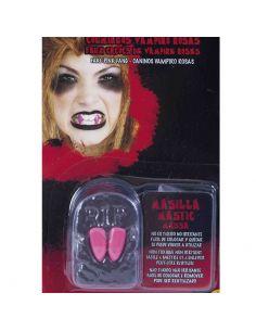 Colmillos Vampiro Rosa Tienda de disfraces online - venta disfraces