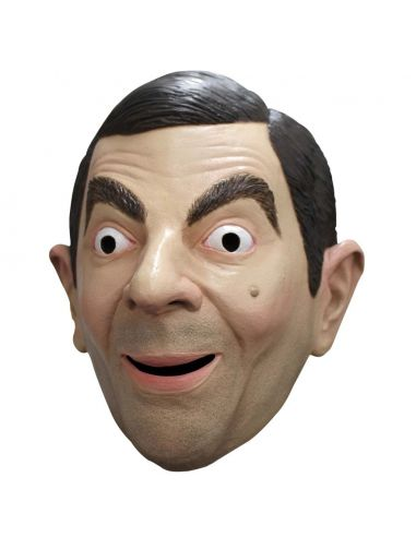 Máscara Latex de Mr Bean adulto Tienda de disfraces online - venta disfraces