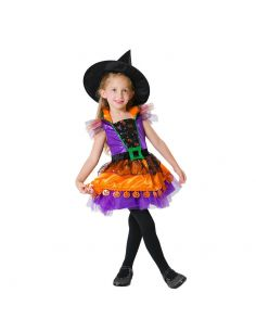 Disfraz Brujita Calabaza para niña Tienda de disfraces online - venta disfraces