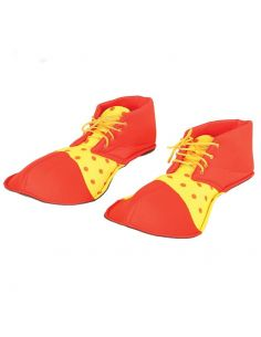 Zapatos Payaso Rojos y Amarillos Tienda de disfraces online - venta disfraces