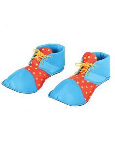 Zapatos Payaso Rojos y Azules Tienda de disfraces online - venta disfraces