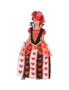 Disfraz de Reina de Corazones para niña Tienda de disfraces online - venta disfraces