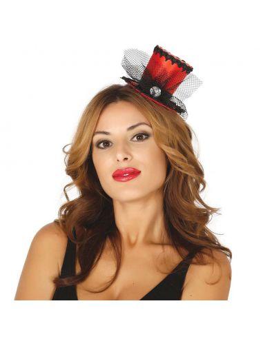 Chistiera Mini Hat roja Tienda de disfraces online - venta disfraces