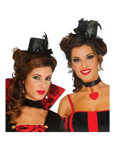 Chistera Mini negra Tienda de disfraces online - venta disfraces