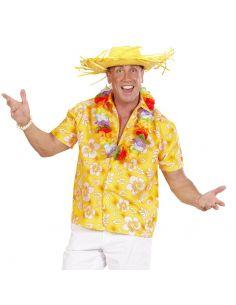 Camisa Hawaiana Amarilla para adulto Tienda de disfraces online - venta disfraces