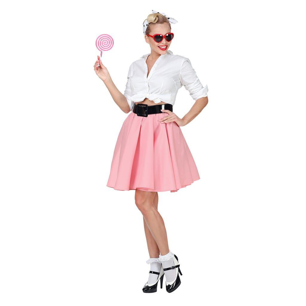 Falda Rock   Roll Rosa  b3162c7d578