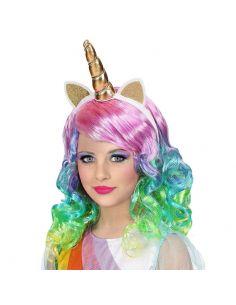 Peluca Unicornio infantil Tienda de disfraces online - venta disfraces