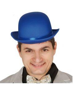 Bombín alta calidad Azul Tienda de disfraces online - venta disfraces