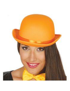 Bombín alta calidad Naranja Tienda de disfraces online - venta disfraces