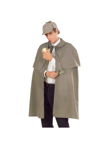 Capa de Detective Gris para adulto Tienda de disfraces online - venta disfraces