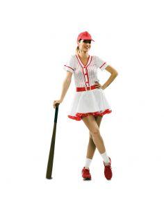 Disfraz Jugador Beisbol para mujer Tienda de disfraces online - venta disfraces